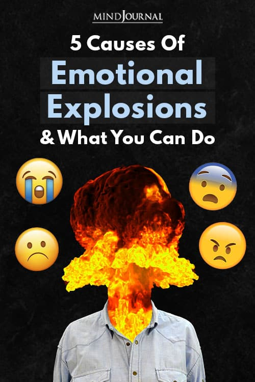 Causes Emotional Explosions Pin