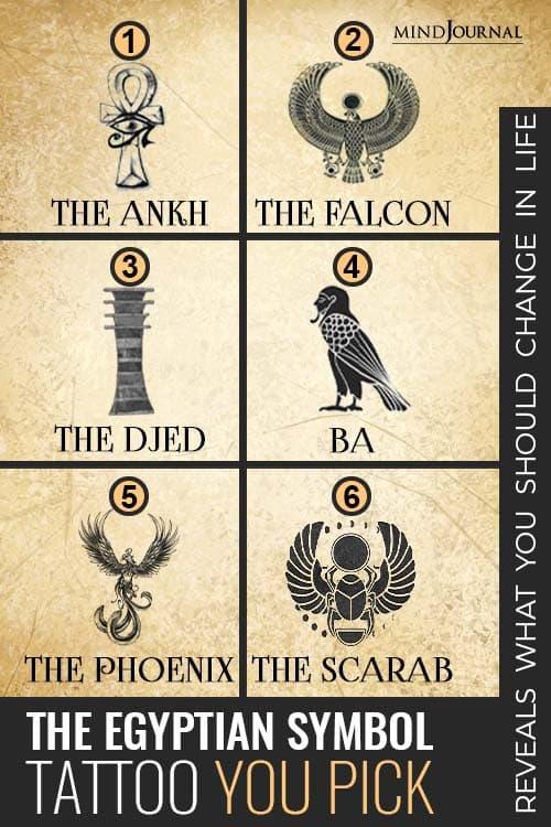 Egyptian Symbol Reveals Change Life pin