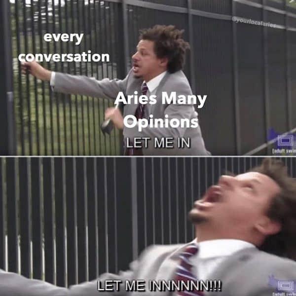 Aries memes