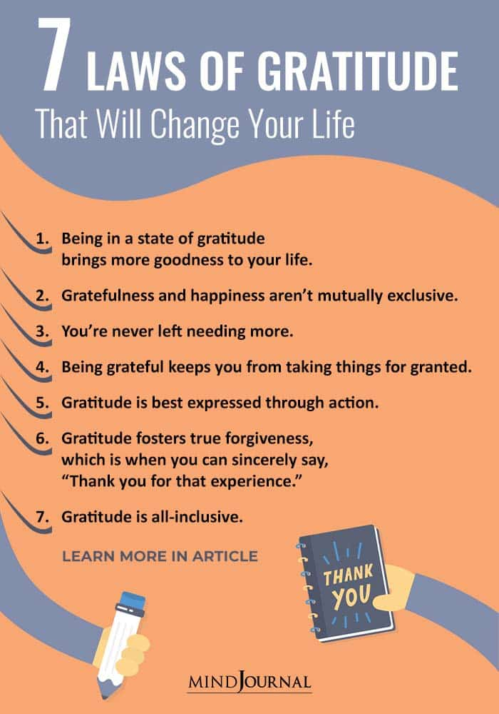 The 7 Laws of Gratitude That Will Change Your Life