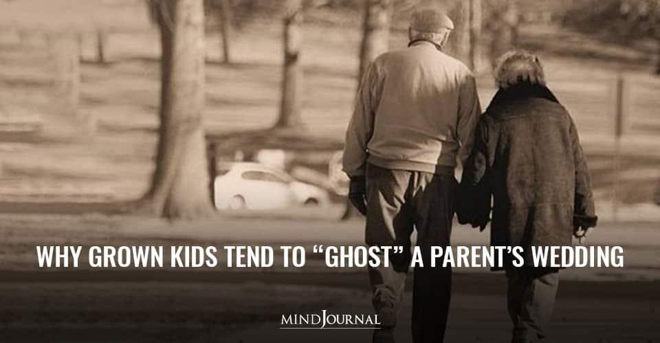 Grown Kids Ghost Parents Wedding