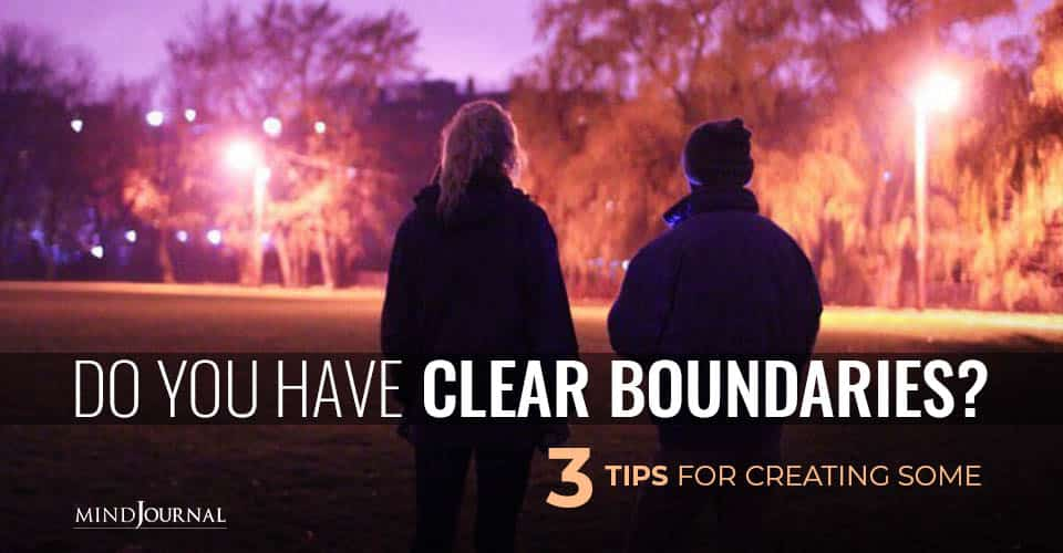 Have Clear Boundaries