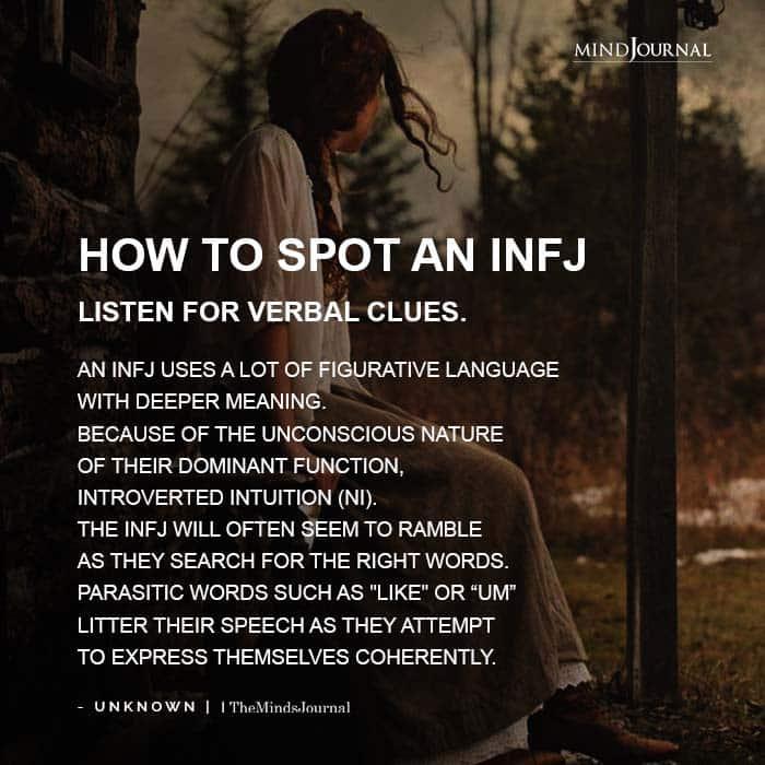 How To Spot An INFJ