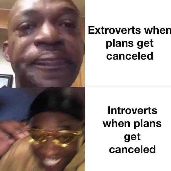 """25 Introvert Vs Extrovert Memes That Will Make You Go """"Oh Yeah, That's Right!"""""""