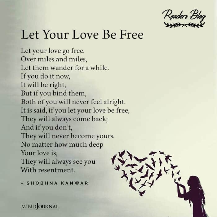Let Your Love Be Free