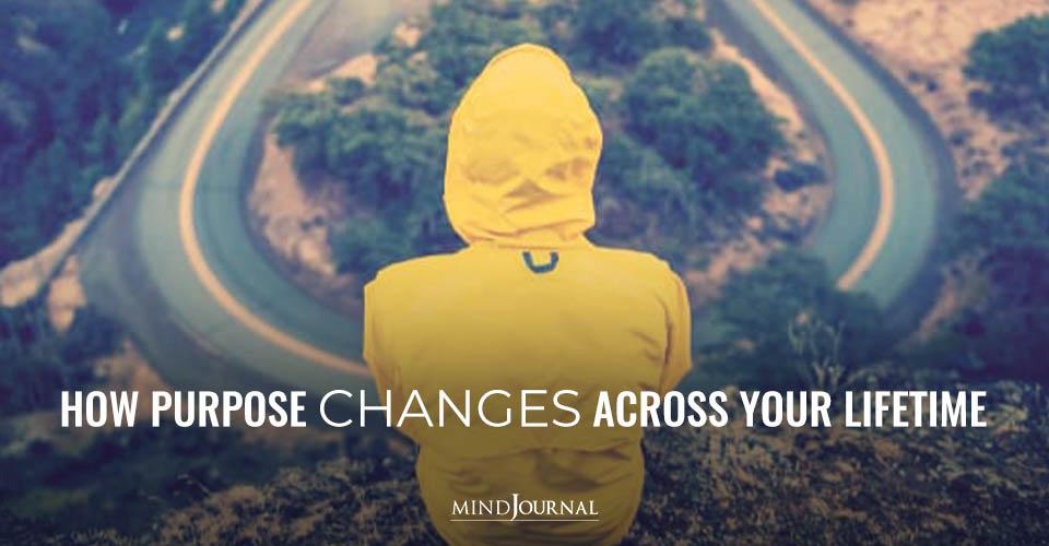 Purpose Changes Across Lifetime