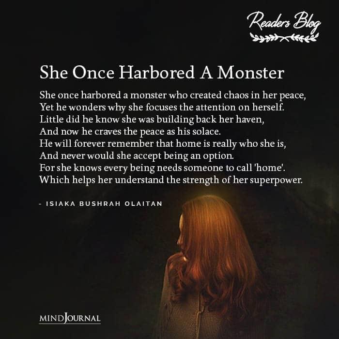She Harbored Monster