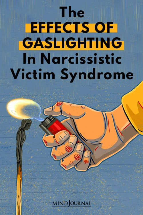 Effects of Gaslighting in Narcissistic  Pin