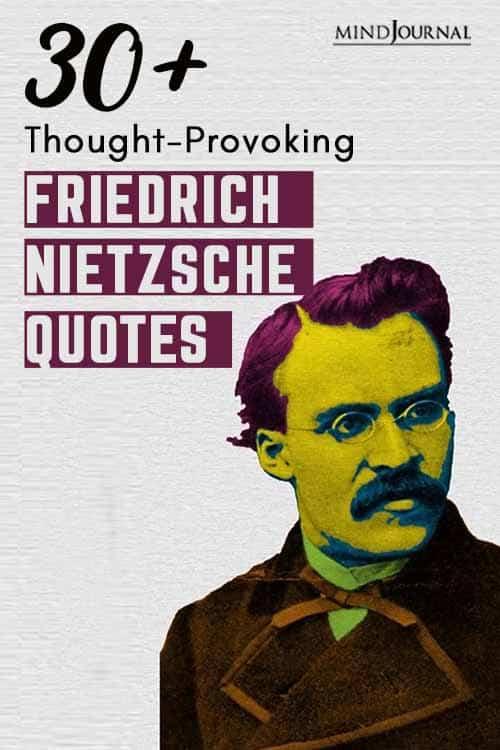 ThoughtProvoking Friedrich Nietzsche Quotes Pin
