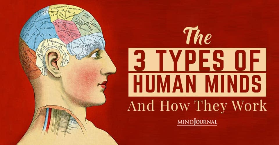 Types Of Human Minds Work