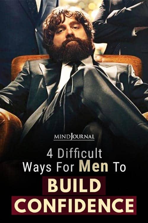 Ways Men To Build Confidence pin