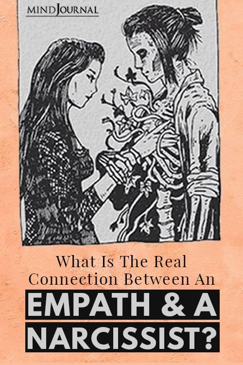 the Real Connection Between an Empath and a Narcissist Pin
