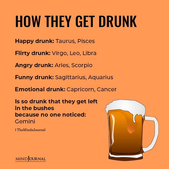 How They Get Drunk