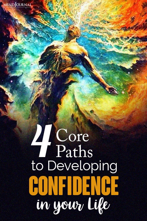 core paths to developing confidence pin