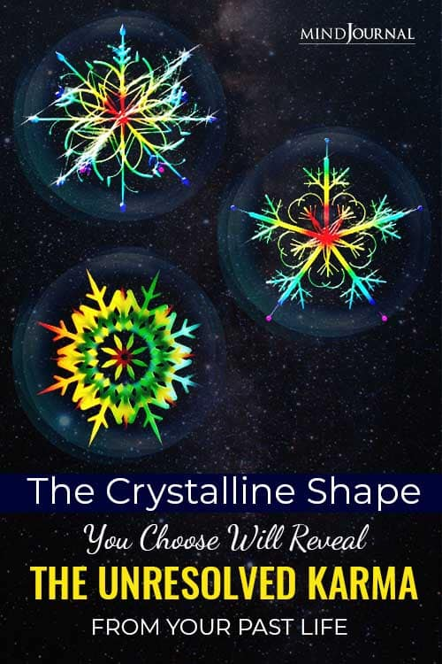 Choose Crystalline Shape Reveal Unresolved Karma From Your Past Life Pin