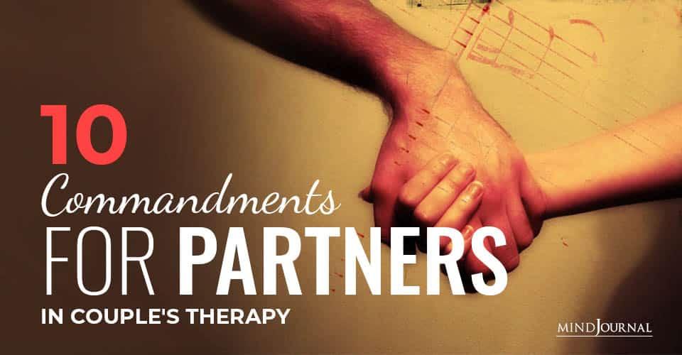 Commandments for Partners