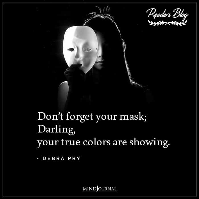 Dont Forget Your Mask