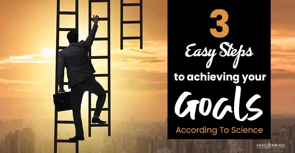Easy Steps Achieving Your Goals