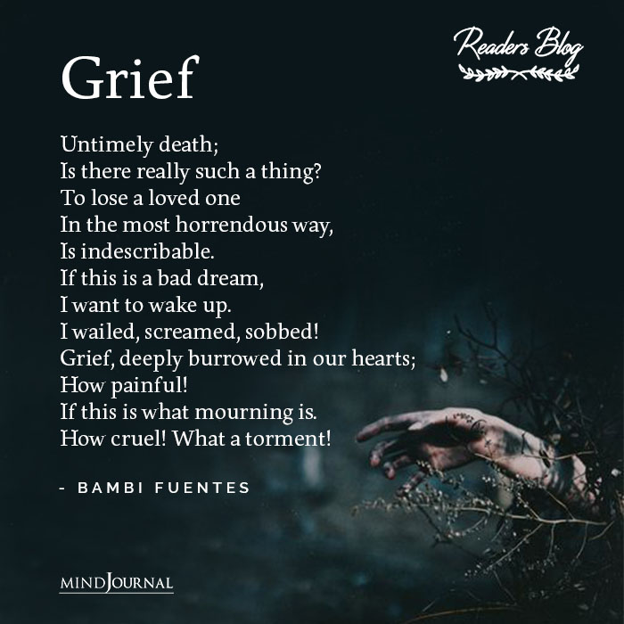 Grief Untimely death