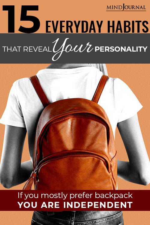 Habits of Your Personality pin