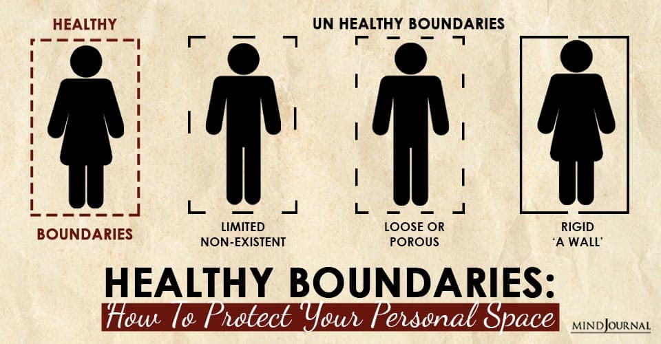 Healthy Boundaries Protect Personal Space