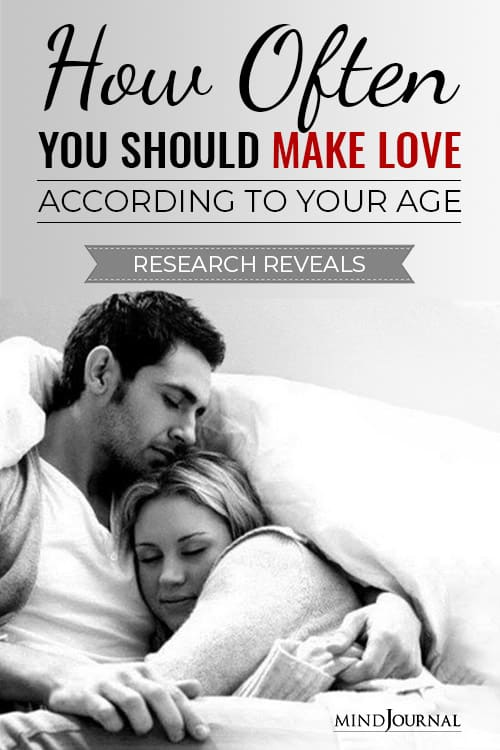 How Often Should Make Love According To Age Pin