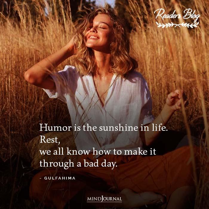 Humor Is Sunshine