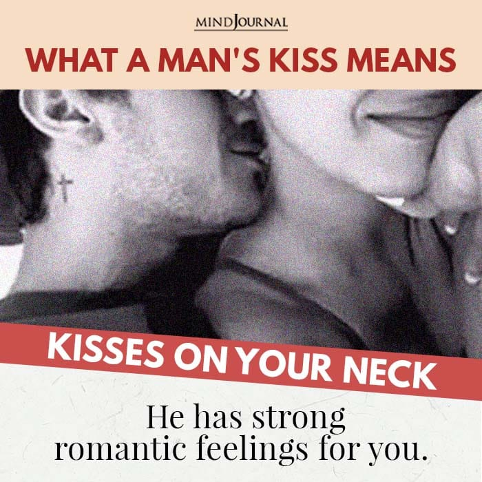 Kisses on your neck