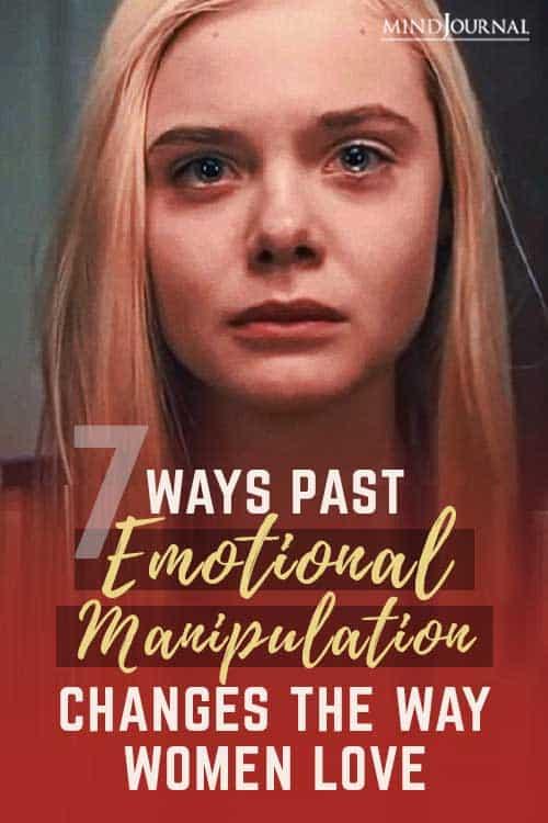 Past Emotional Manipulation Way Women Love Pin