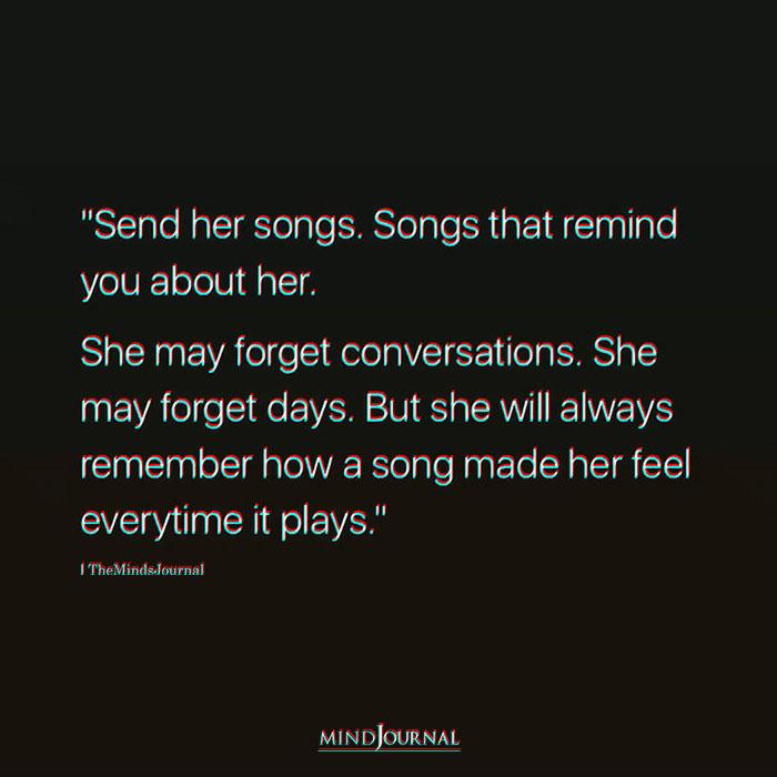Send her songs