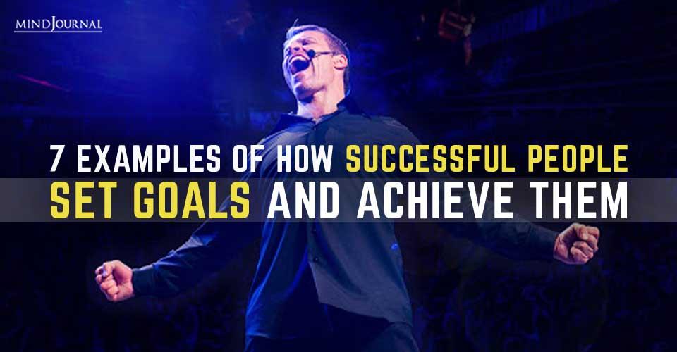 Successful People Set Goals