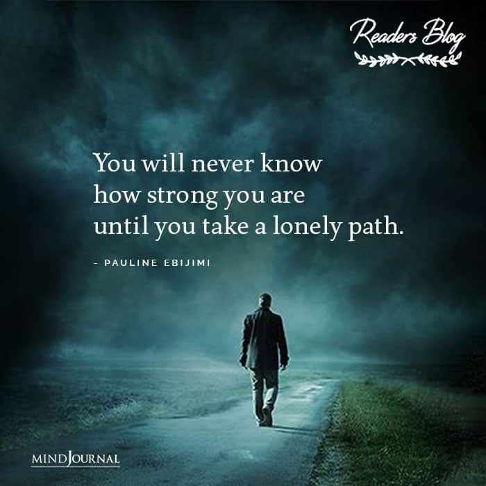 Take A Lonely Path