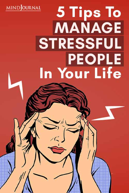 Tips Manage Stressful People Life Pin