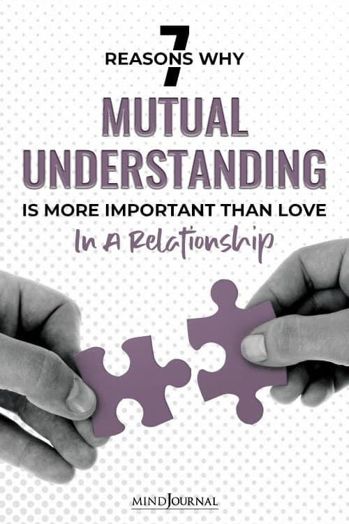 Understanding Is More Important Than Love In Relationship pin