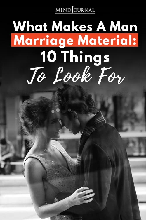 What Makes Man Marriage Material Pin