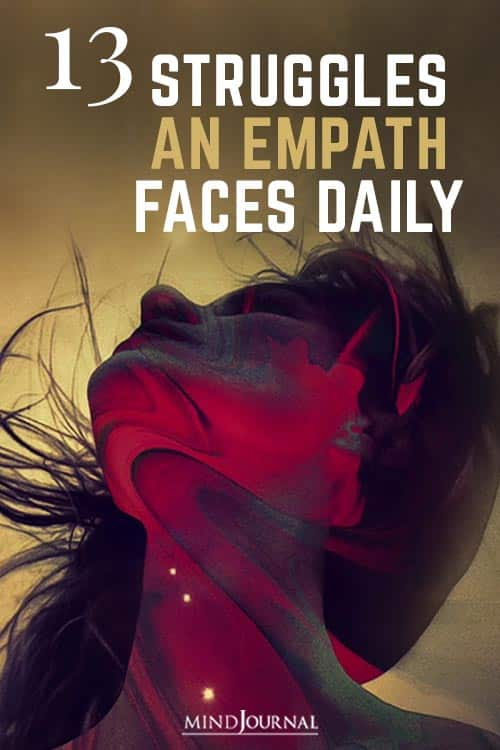 Unique Challenges and Struggles An Empath Faces Daily Pin