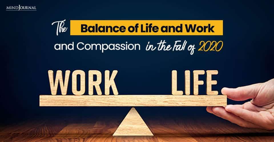Balance of Life Work Compassion