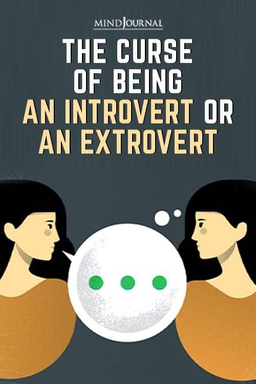 Curse Being an Introvert Extrovert Pin