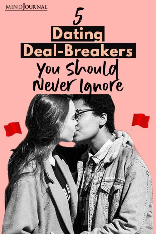 Dating Deal Breakers pin