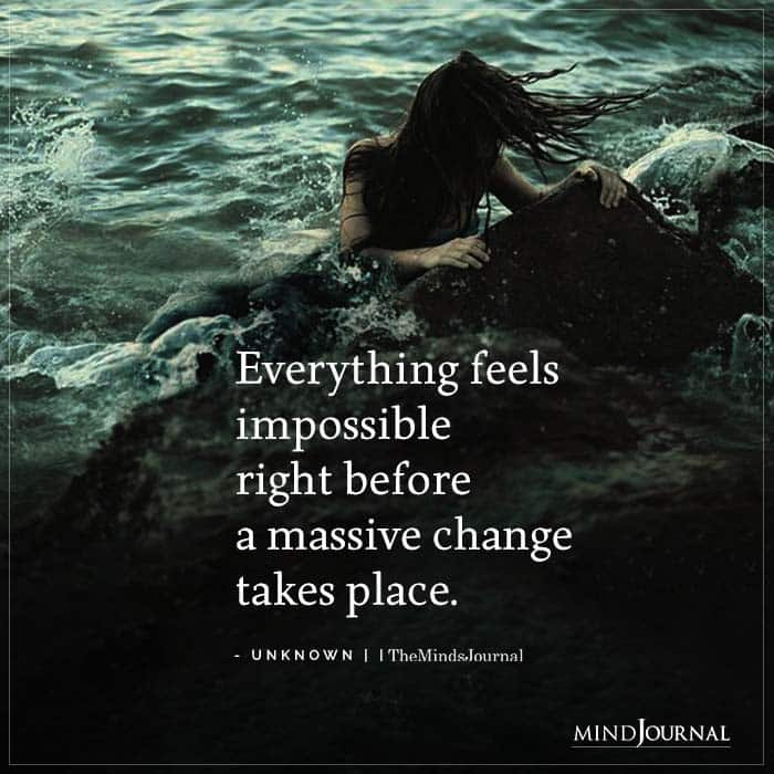 Everything Feels Impossible