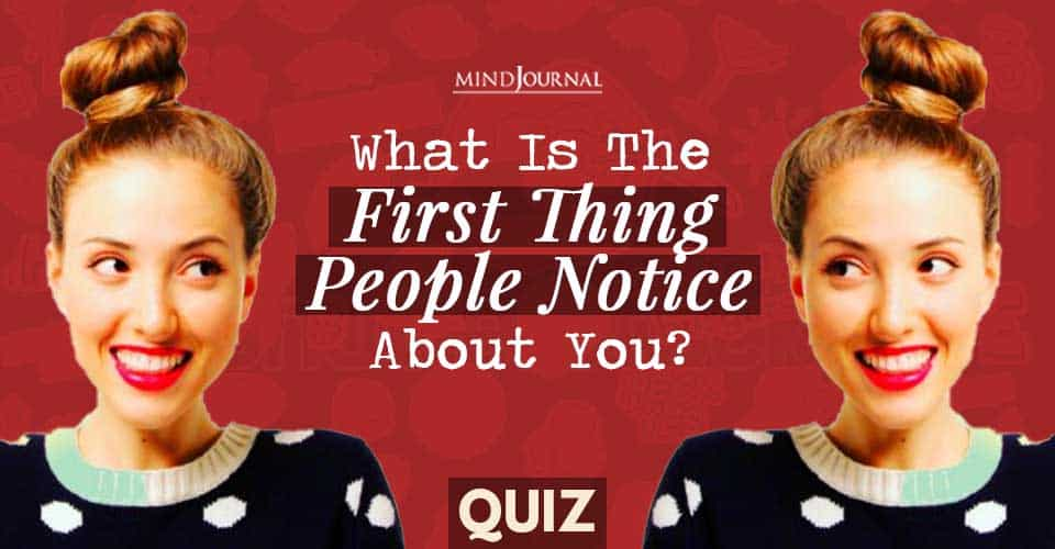 First Impression Quiz