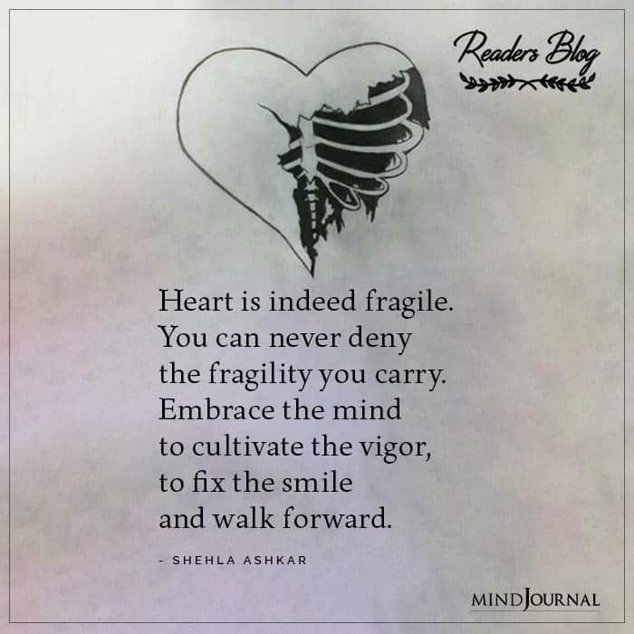 Heart Is Indeed Fragile