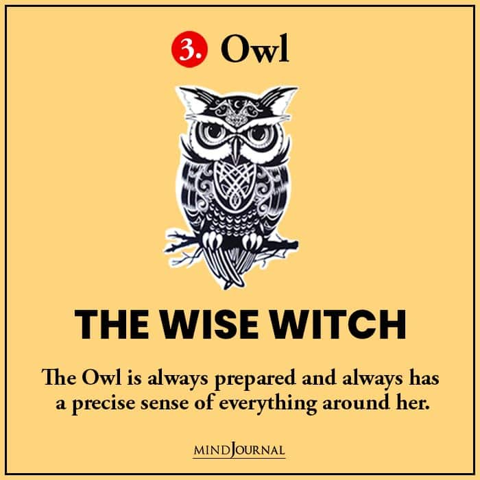 Kind Witch Pick Familiar Find Out owl