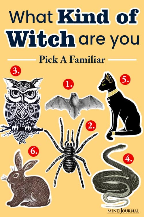 Kind Witch Pick Familiar Find Out pin