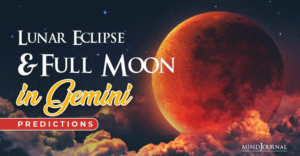 Lunar Eclipse Full Moon in Gemini