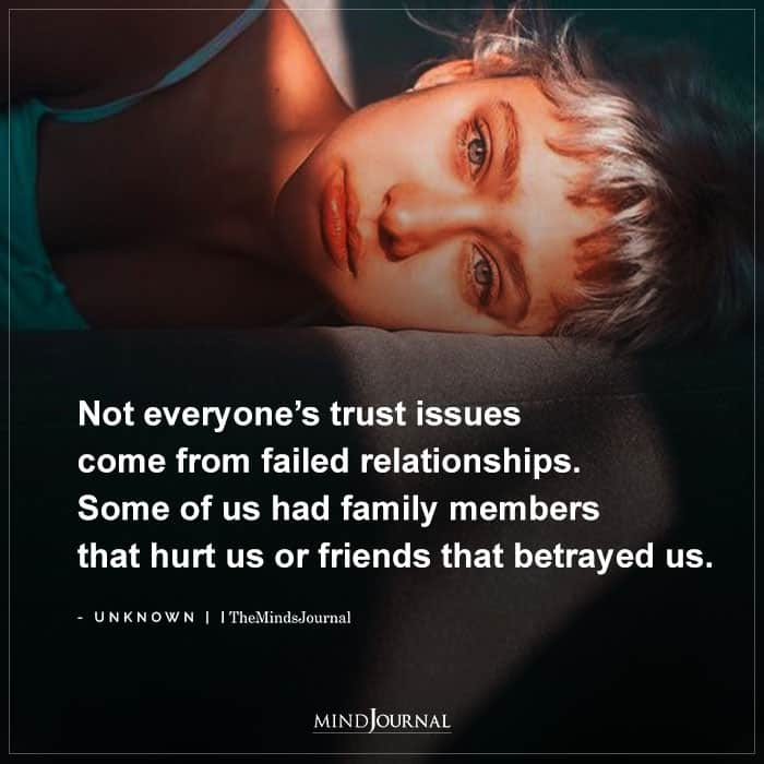 trust issues in relationship