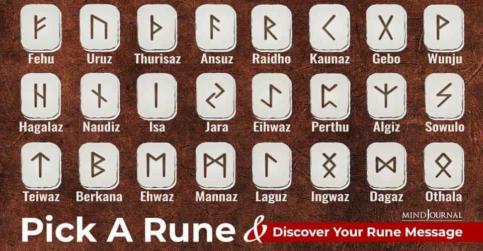 Pick Rune Discover Rune Message