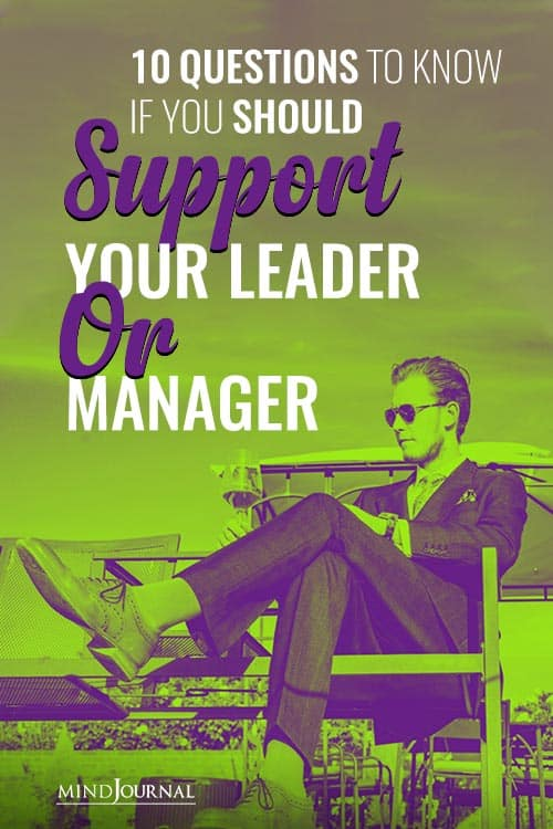 Questions Know Should Support Leader Manager pin