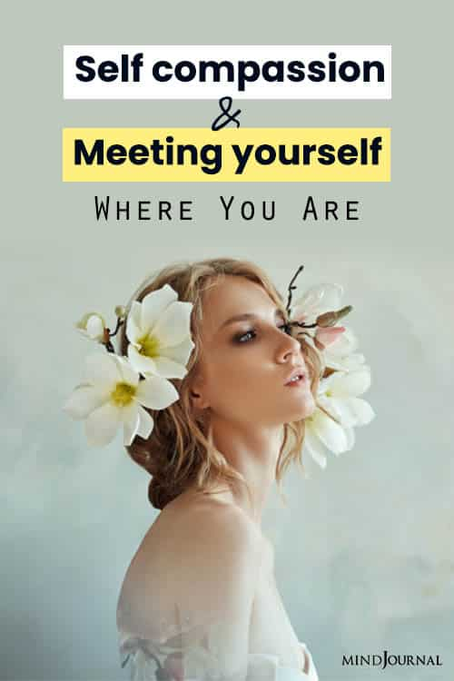 SelfCompassion Meeting Yourself pin