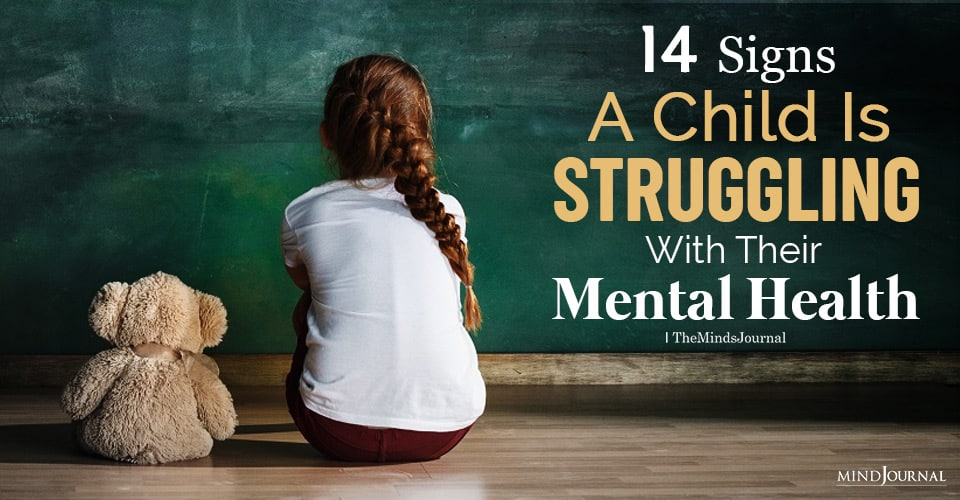 Signs A Child Is Struggling With Their Mental Health